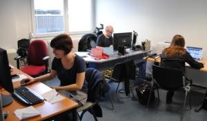 La cellule web de France 3 Lorraine pour l'élection Cantonale 2011